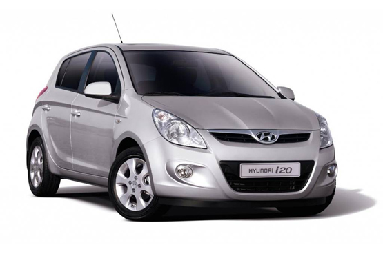 Hyundai i20 for rent in Prague